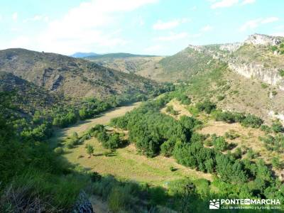 Meandros Río Lozoya-Pontón de la Oliva;actividad vespertina;hayedo irati paseos por urbasa; octubr